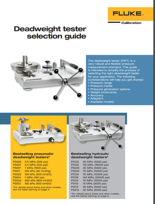 Dead Weight Selection Guide 2015